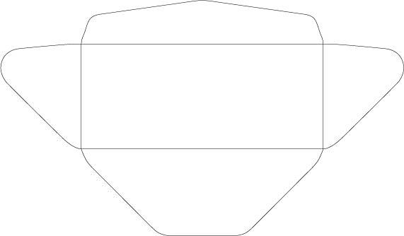 precise continental template 10 envelopes precise continental